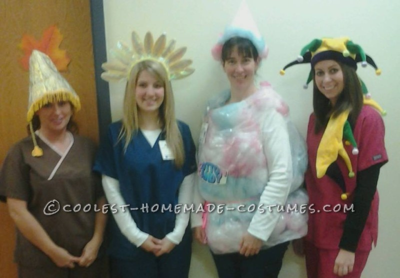 Easy Cotton Candy Costume - 1