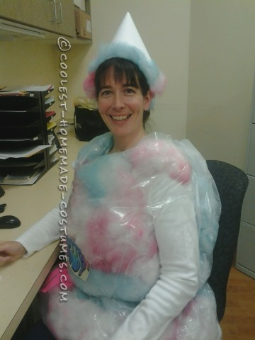 Easy Cotton Candy Costume