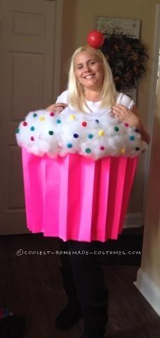 Easy Halloween Costume Cupcake Cutie