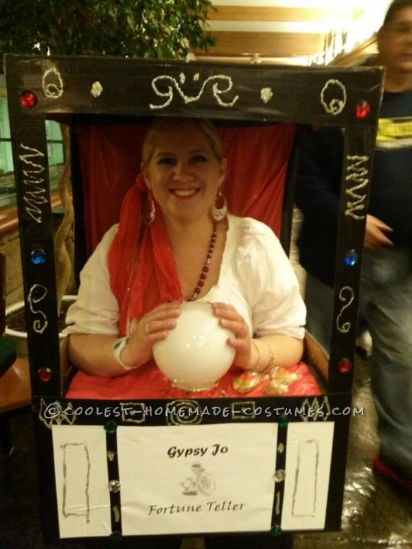 Gypsy Jo Fortune teller