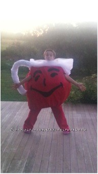 Easy No-Sew DIY Kool-Aid Man Costume - OH YEAH!
