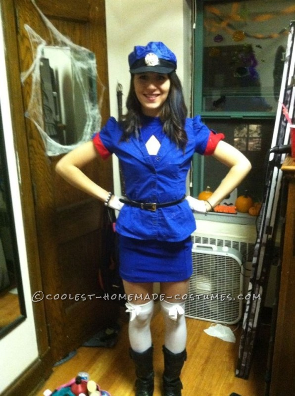 Easy Officer Jenny Costume from Pokemon