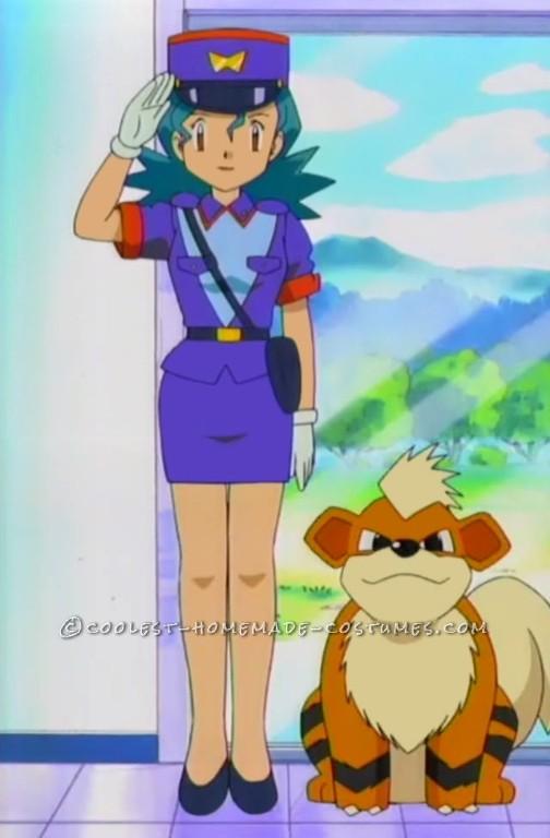Easy Officer Jenny Costume from Pokemon