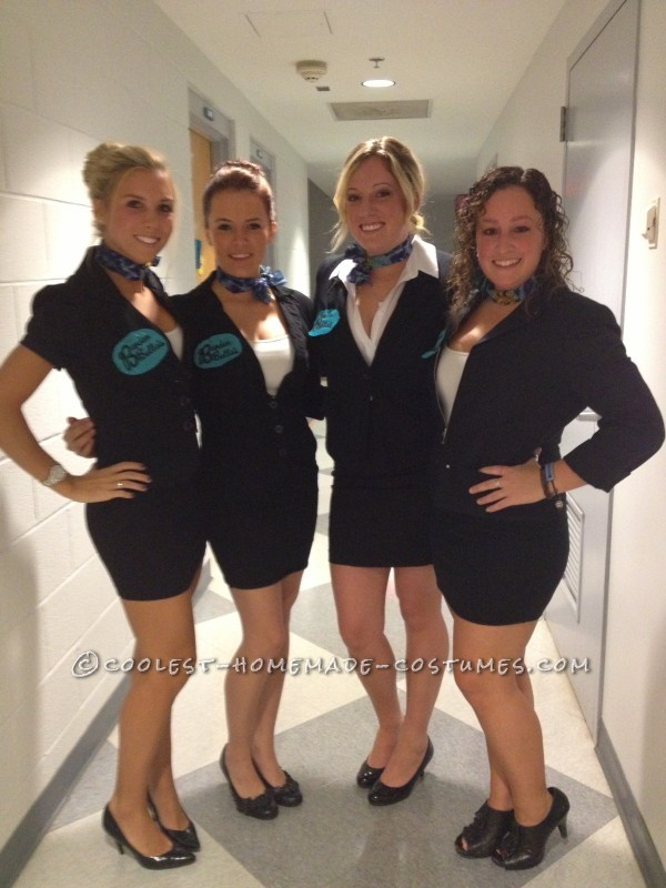 Easy All-Girl Group Halloween Costume: Pitch Perfect Barden Bella's - 2