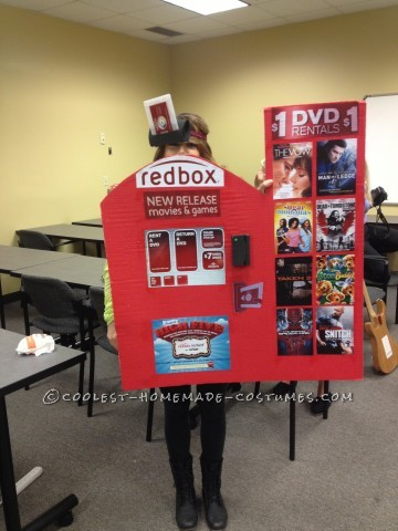 Cool Redbox DVD Kiosk Costume
