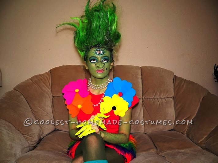 Elaborate Homemade Party Monster Troll St. Troll Costume