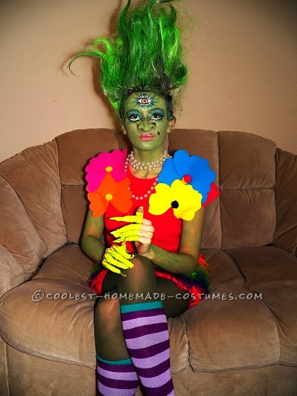 Elaborate Homemade Party Monster Troll St. Troll Costume - 1