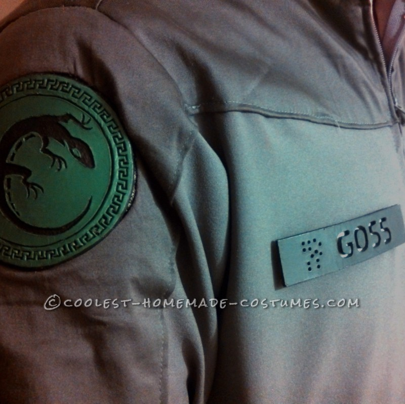 Ender's Game: A Homemade Battleschool Flightsuit - 9