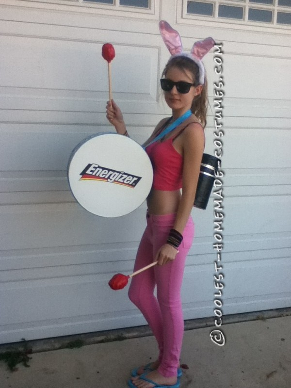 Sexy Energizer Bunny Halloween Costume