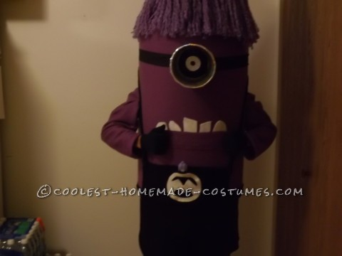 Evil Purple Minion Halloween Costume