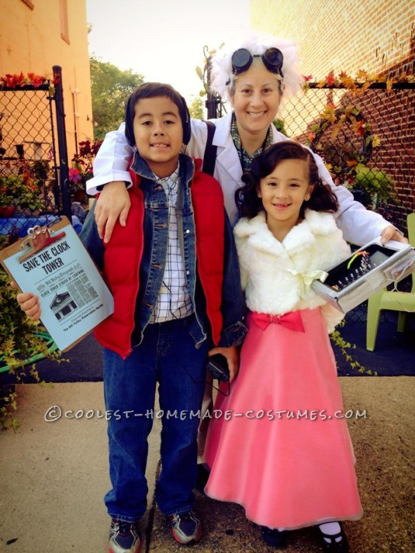 Fantastic Back to the Future Family Costume