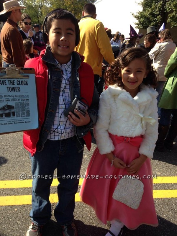Fantastic Back to the Future Family Costume - 4