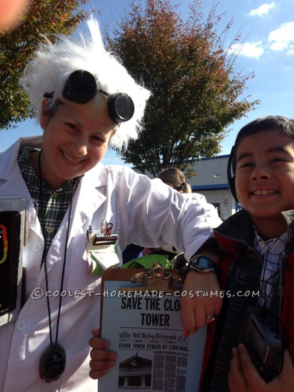Fantastic Back to the Future Family Costume - 8