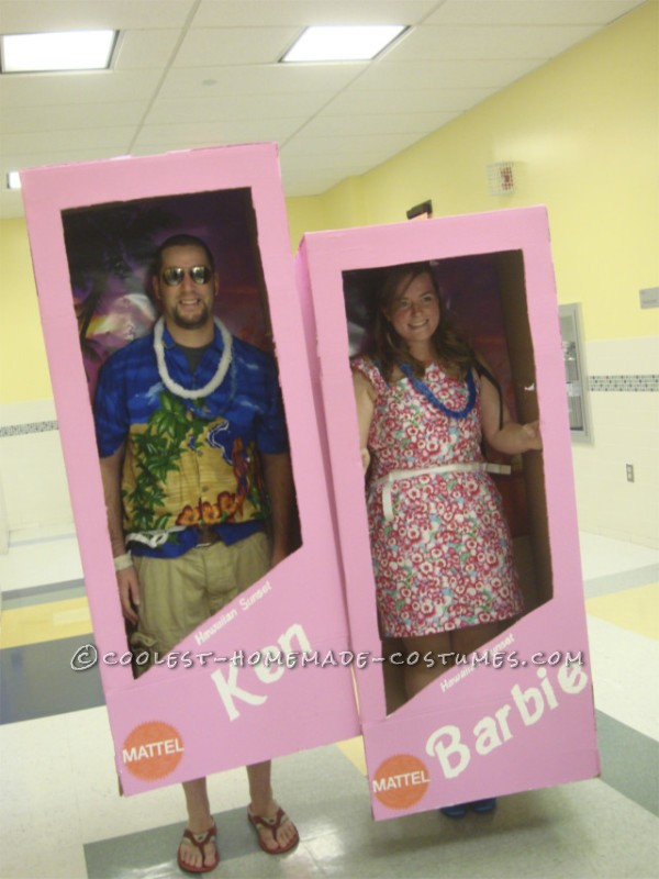 Fantastic Barbie and Ken (in the Boxes!) Costumes