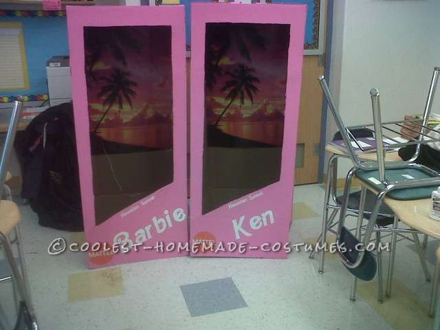 Fantastic Barbie and Ken (in the Boxes!) Costumes - 9