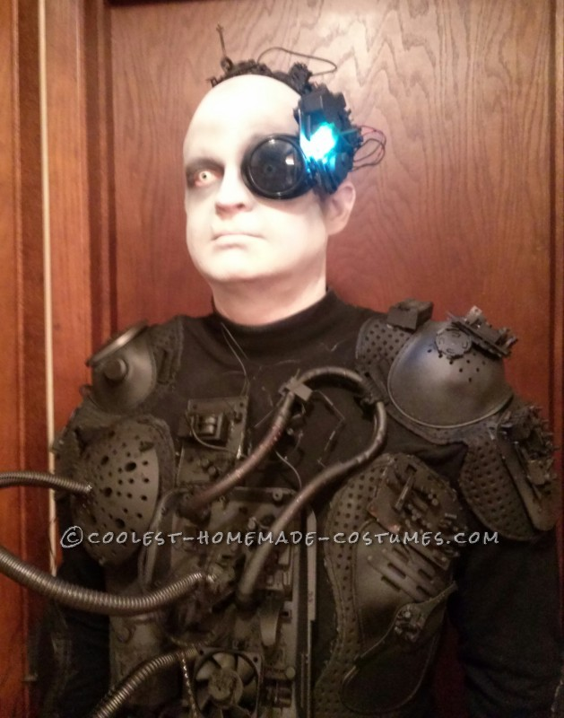 Fantastic Homemade Borg Costume