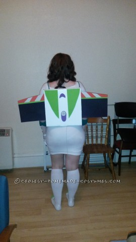 Cool DIY Female Buzz Lightyear Costume