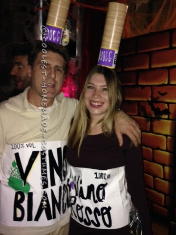 Fine Wines Couple Halloween Costumes