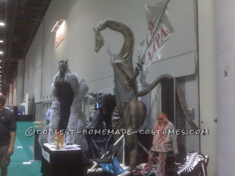 Tallest Fire Breathing Dragon Costume Ever!