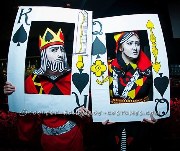 A Royal Pair: King of Spades and the Black Maria Couple Costume - 3