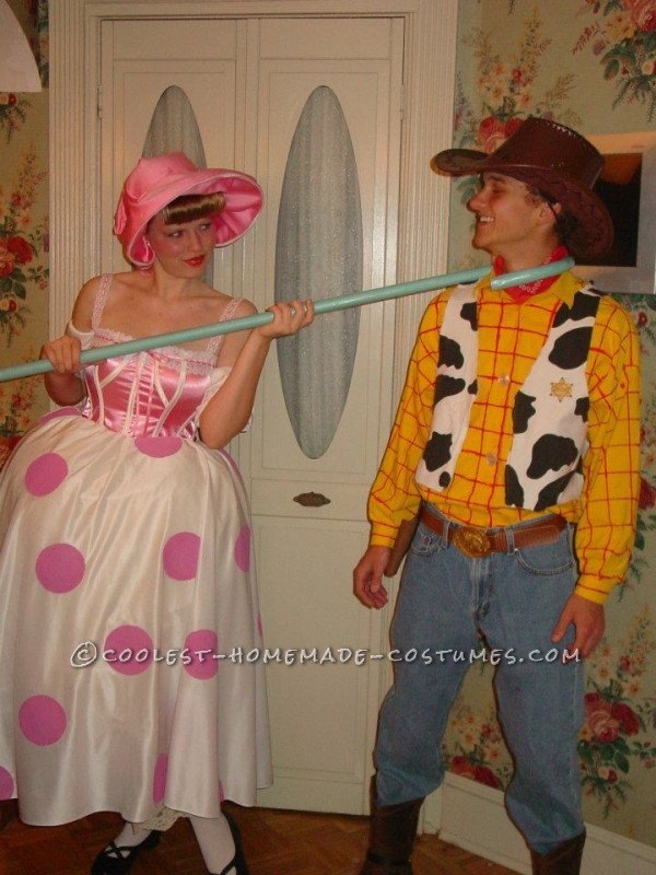 G-Rated Adult Couple Costume: Woody and Bo Peep