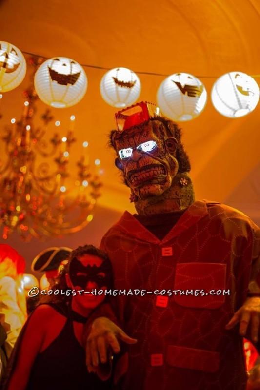 Frankenstein's Monster DIY Halloween Costume - 2