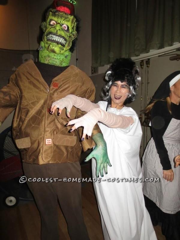 Frankenstein's Monster DIY Halloween Costume - 1