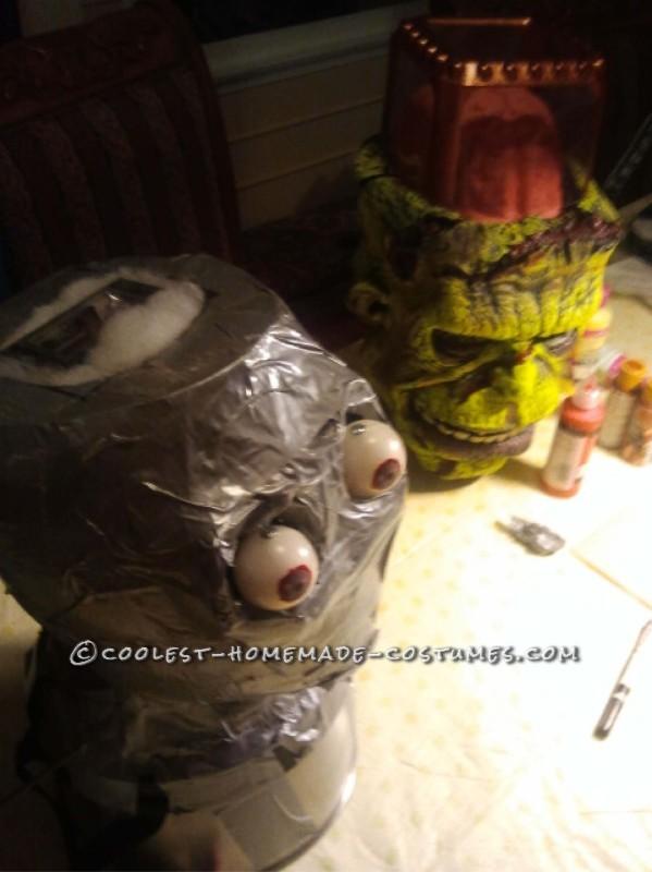 Frankenstein's Monster DIY Halloween Costume - 6
