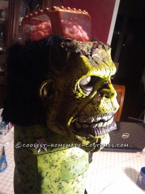 Frankenstein's Monster DIY Halloween Costume - 7