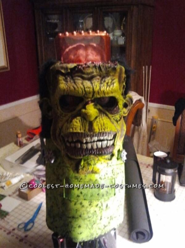 Frankenstein's Monster DIY Halloween Costume - 8