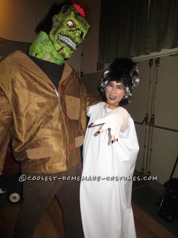 Frankenstein's Monster DIY Halloween Costume