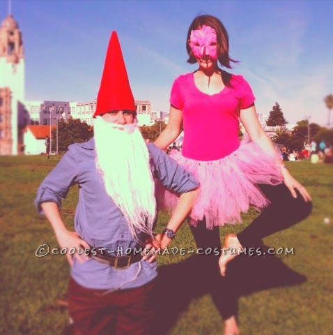 Friendly Lawn Ornaments Couple Costume