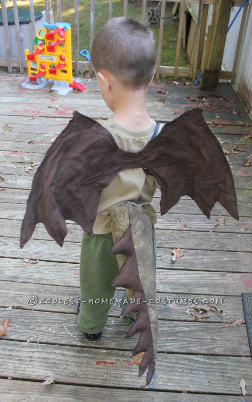 Fun and Simple Dragon Costume