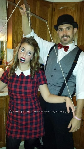 Fun and Unique Marionette and Puppet Master Couple Costume