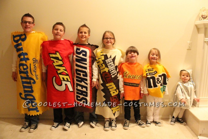 FUN Chocolate and Peanut Butter Family Costume