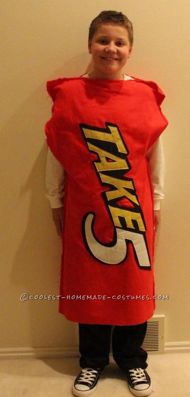 Homemade Take5 costume