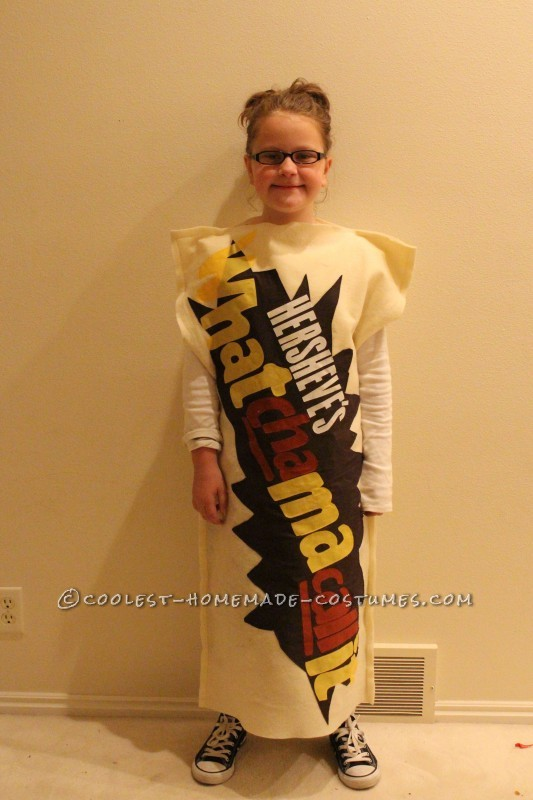 Fun Chocolate and Peanut Butter Candy Bars Family Costume - 3