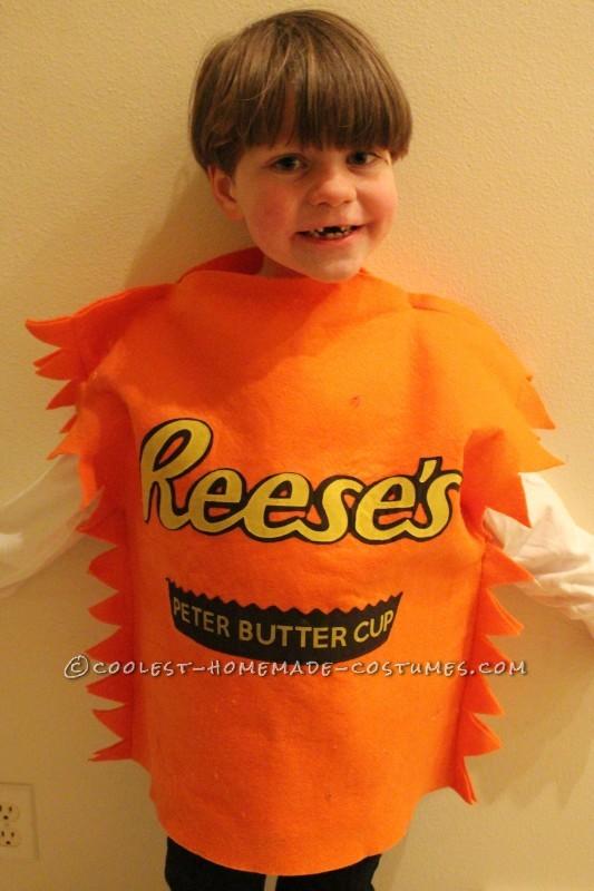 Homemade Reese's costume