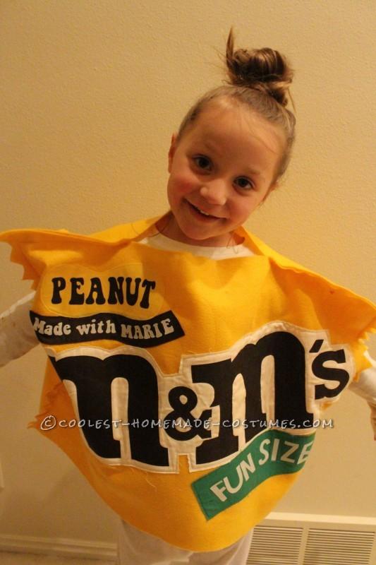 Homemade M&M's costume