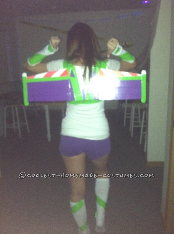 Fun DIY Buzz and Woody Couple Costume