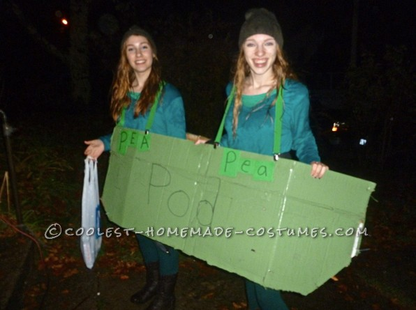 Easy Two-Peas in a Pod Costume