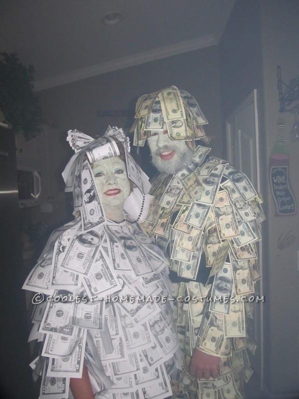 Geico Money Man & Women