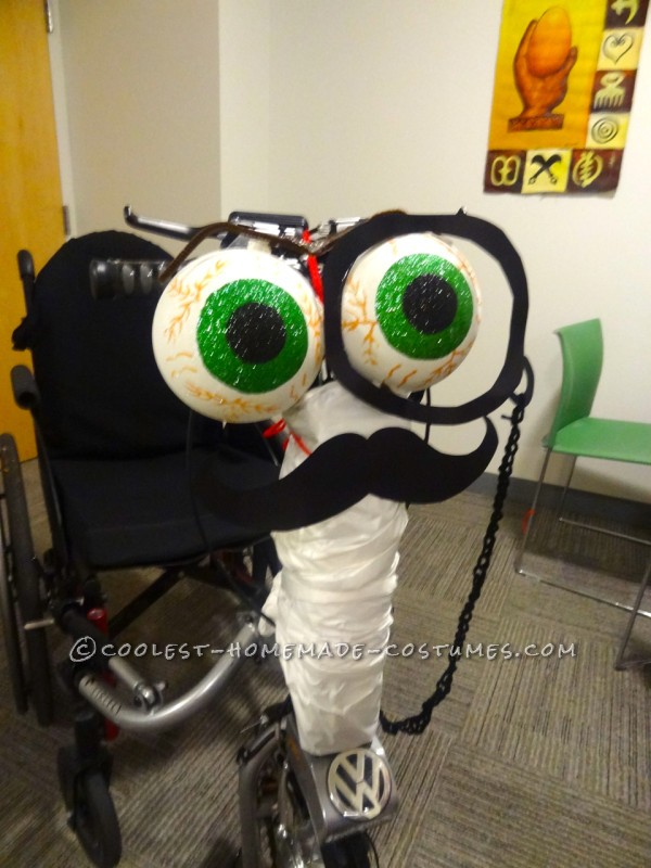 Gentleman Wheelchair Costume