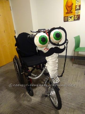 Gentleman Wheelchair Costume
