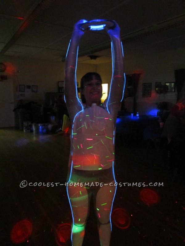 Glowing Halloween Costume: Get Up, Light Up and Be Tron!