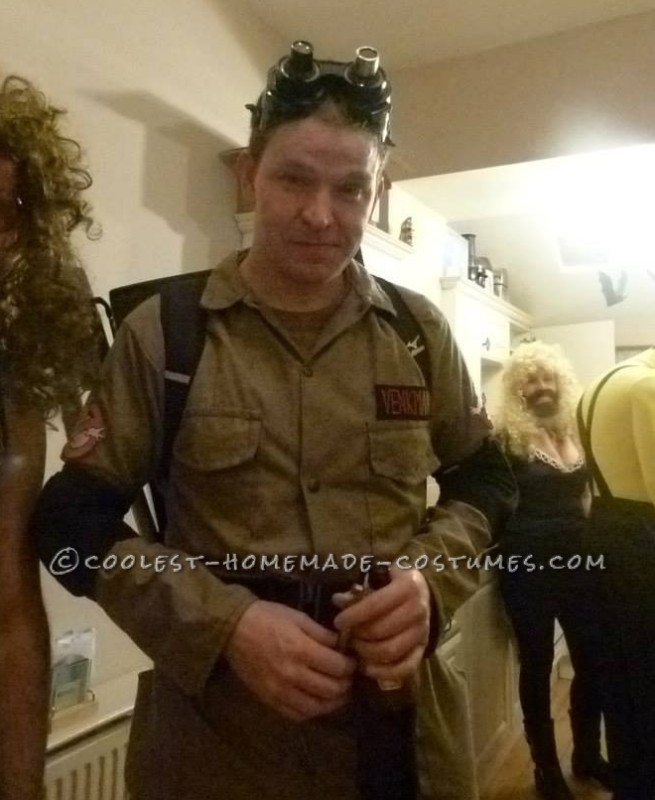 Ghostbusters Halloween Costume - 1