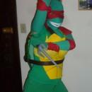 Girl Ninja Turtle Power Halloween Costume
