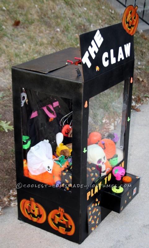 Girl's Halloween Claw Machine Costume - 2