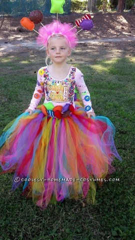 Cool Candy Crush Princess and Peacock Girl Costumes