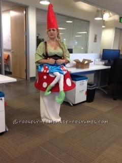 Gnome Sitting on a Mushroom Costume - 4